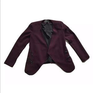 Le Chateau Open Front Stretch Lining Blazer